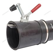 Насадка резиновая круглая с зажимом, на шланг D=100 мм NORDBERG AN100RC фото