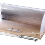 Хлебница + нож для хлеба Kaiserhoff KH 2312 фото