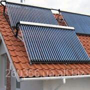 Вакуумные солнечные коллекторы фото