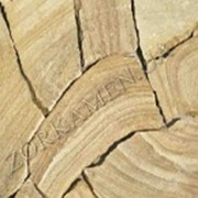 Камень песчаник для площадок, тротуаров и дорожек Пезант 5, код Н92 фото