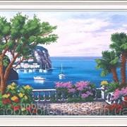 """Набор для вышивания бисером """"Цветущая гавань"""" Б-046 фото"""