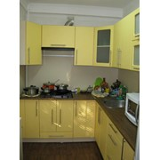 Кухня желтого цвета фото