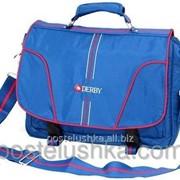 Сумка молодежная для ноутбука DERBY сине-белая 0240119,02 фото