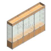 Модульные витрины из алюминиевого профиля фото