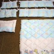 Набор для детской кроватки, наполнитель fiberball  фото