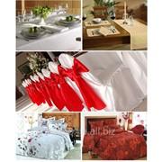 Пошив ресторанного текстиля. Скатерти, салфетки, чехлы (весь декор). фото