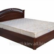 """Двуспальная деревянная кровать """"Глория"""" во Львове фото"""