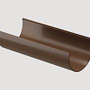 Желоб водосточный Docke Standard / Dacha светло-коричневый 3м фото