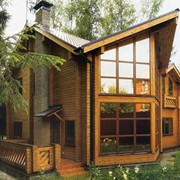 Строительство деревянных домов под ключ Украина фото