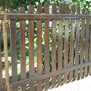 Забор деревянный 1026 фото