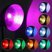 Светодиодная RGB лампа с пультом Радуга фотография
