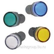 Лампа AD22DS (LED) матрица d22мм желтый, зеленый, красный, синий, белый фото