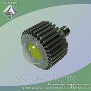 Лампа светодиодная универсальная с цоколем Е40 фото