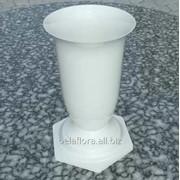 Флакон пластмассовый для цветов белый FL 3 фото