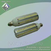 Cветодиодная лампа с цоколем Е27 фото