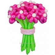 Букет цветов из шаров фото