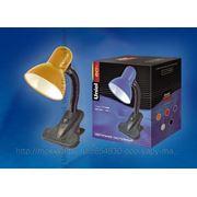 Настольный светильник Uniel TLI-206 Orange. E27 фото