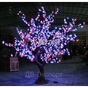 Светодиодное дерево. Декор. фото