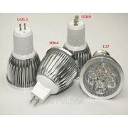 Светодиодные лампы MR 16 - 5 Ватт фото