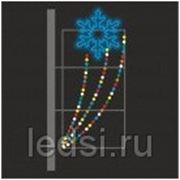 Световой кронштейн «Праздничная снежинка» фото