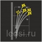 Световой кронштейн «Салют» фото