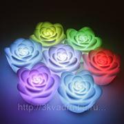 Светильник светодиодная роза
