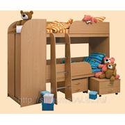 Двухъярусная кровать-2 фото