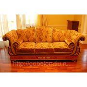 Обивка классической мебели фото