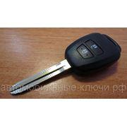 Корпус ключа для Тойота, 2 кнопки, toy43, 2012 - фото