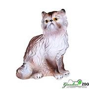 Садовая фигура Кошка персидская фото