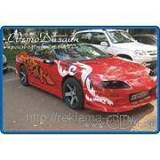 Автовинил. Оклейка авто виниловыми пленками различных цветов. фото