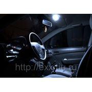 Шевроле Спарк+Чери КуКу: LED подсветка салона фото