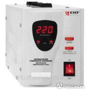 Стабилизатор напряжения СНЭ1-1000ВА электронный EKF фото