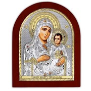 Иерусалимская Икона Божией Матери серебро с позолотой Silver Axion 156 х 190 мм фото