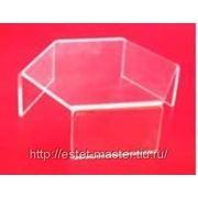Подиум шестиугольный, H45 × L120, ПЛ 10043 фото