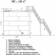 Резервуар вертикальный стальной РВС-400 м3 фото