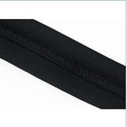 Молния рулонная обувная №7 в ассортименте, черного цвета фото
