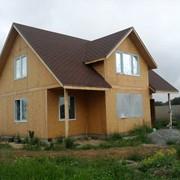Канадский дом. Дома скелетной конструкции фото