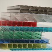 Сотовый поликарбонат, лист 6 мм фото
