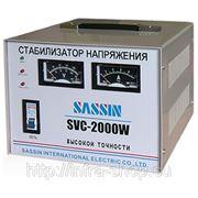 Стабилизатор напряжения электромеханический SVC-2000 SASSIN фото