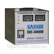 Стабилизатор напряжения электромеханический SVC-3000 SASSIN фото