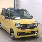 Хэтчбек турбо HONDA N ONE кузов JG1 модификация Premium Tourer L Package гв 2013 пробег 69 т.км желтый черный фото