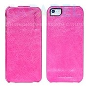 Чехлы Borofone General flip Leather Case Pink для iPhone 5/5s фото