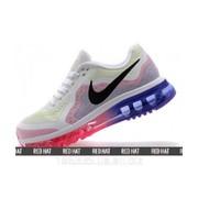 Кроссовки Nike Air Max 2014 White Lime/Purple Red арт. 23090 фото