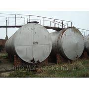 Резервуары БУ горизонтальные стальные на 75 м3. фотография