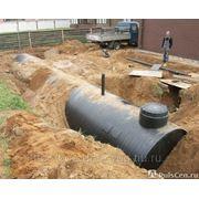 Резервуар пожарный из полиэтилена подземный от 10 до 500м3