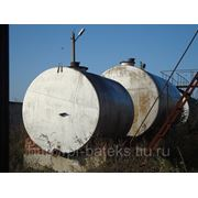 Резервуары вертикальные стальные сварные 25 кубов БУ фото