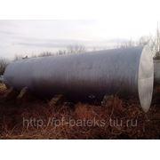 Резервуары горизонтальные стальные 50 куб. м БУ, чистые фотография