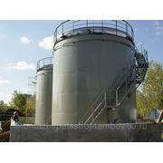 Резервуар вертикальный стальной (РВС) фото