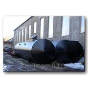 Резервуар горизонтальный двустенный (двухсекционный) фото